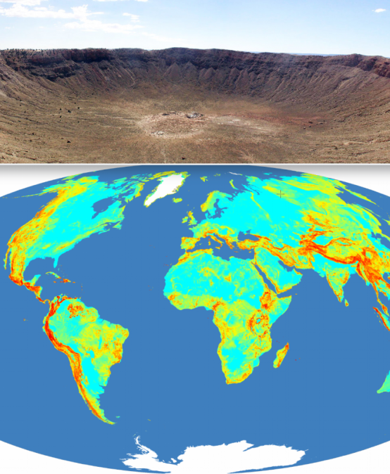 Vortrag – Impact craters on Earth – peripheral or useful in geology and geomorphology?